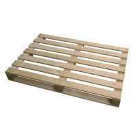 Wooden Pallet 1200x800x127 mm - ISPM 15, 750 kg