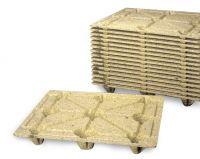 Wood fiber pallet 1200x1000mm - light
