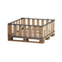 Wooden MP Box - detachable - 1200x1000x400mm