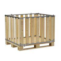 Wooden MP Box - detachable - 1200x800x700mm