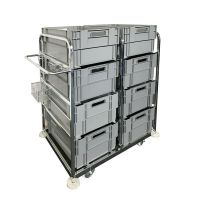 Internet Order Picking Trolley - Incl. 8 Stack and Nest Boxes 69721