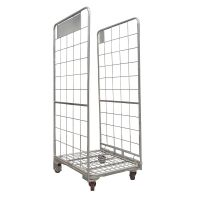 2 Sided Roll Cage Container - 800x700x1770mm - Nestable, Used