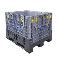 Foldable Plastic Pallet Box - 1200x1000x975mm - 814 Litres