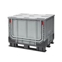 Plastic Pallet Box - 1211x811x902mm - 590 L - Foldable