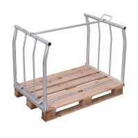 Metal Pallet Collar Frame with top support - 1200x1000x800mm