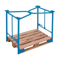 Metal Pallet Collar Frame with Clamping Function - 1200x1000x800mm