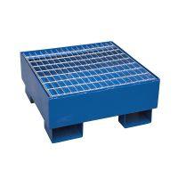 Drip tray 620x620x280 mm - galvanized grid, 70L