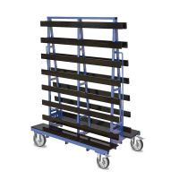 Plate trolley 1500x785x2000 mm - double-sided, 1000 kg