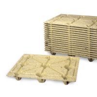 Wood fiber pallet 1200x1000mm - light