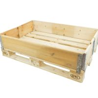 New wooden pallet stacking frame - 1200x800x200mm - 6 hinges
