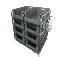 Order Picking Trolley - Includes 8 EuroPicking Boxes 64590