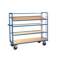 High shelf truck - 1505x550x1790mm - 4 platforms