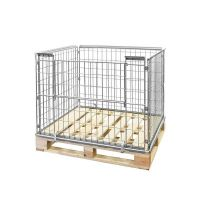 Collapsible Wire Pallet Converter - 1220x1020x870mm