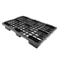 Plastic export pallet 1200x800x155mm - nested - lightweight