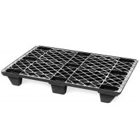 Plastic export pallet 1200x800x130mm - open deck