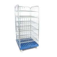 3-roll container witch display 810x720x1808mm - 4 shelves
