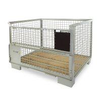 DIN gitterbox 1240x835x970mm, new - UIC Standard 435-2