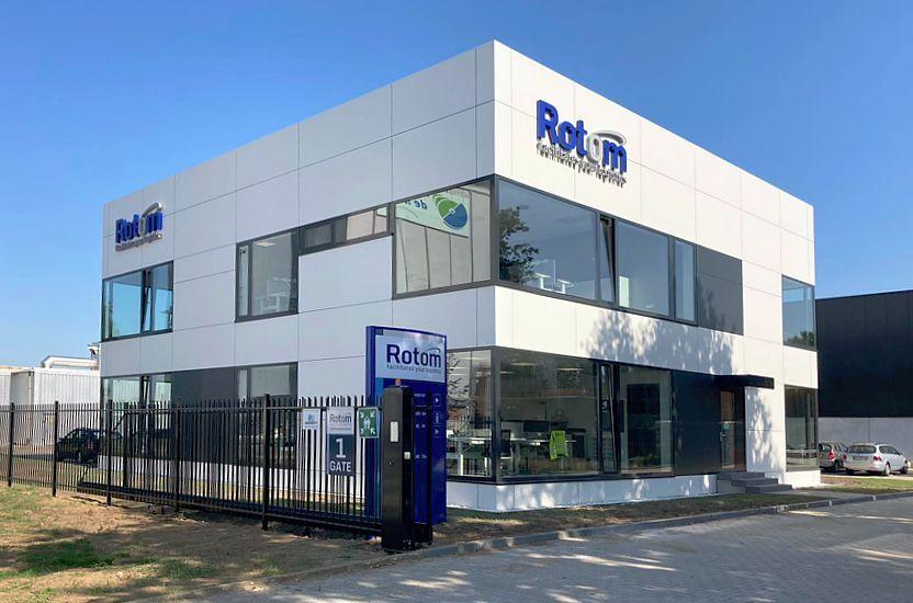 New office Rotom Netherlands in Maasbracht