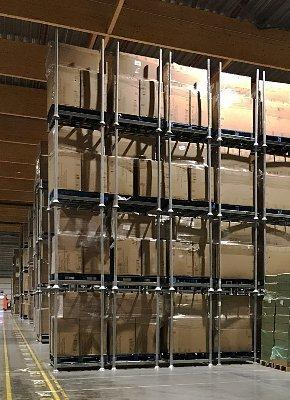 Manage every square metre of storage space with mobile racking system