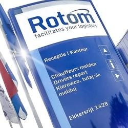 Corporate identity implemented in total Rotom organization