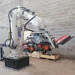 Production automation - a new robot for the production of pallets in the Netherlands and France