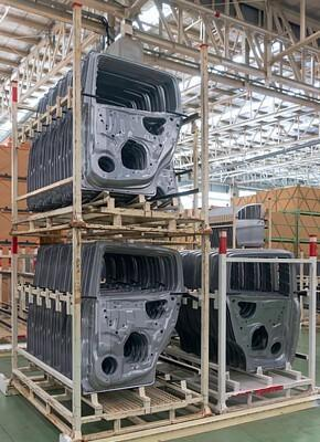 Sustainability of the automotive industry using returnable packaging logistics