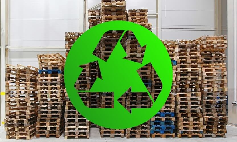 Pallet recycling is a key element in caring for the environment